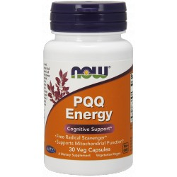 NOW FOODS PQQ Energy 30 vcaps.