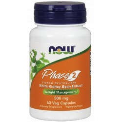 NOW FOODS Phase 2 500mg 60 kaps.