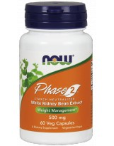 NOW FOODS Phase 2 500 mg 60 kaps.
