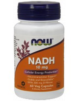 NOW FOODS NADH 10mg 60 vcaps.