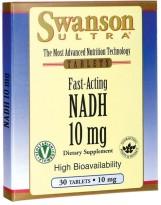 SWANSON NADH 10 mg 30 tabl.