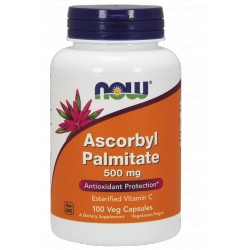 NOW FOODS Ascorbyl Palmitate 500mg 100 vcaps.