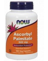 NOW FOODS Ascorbyl Palmitate 500 mg 100 vcaps.