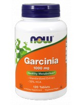 NOW FOODS Garcinia 1000 mg 120 tabl.