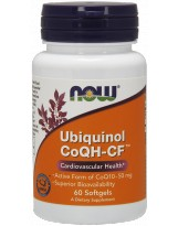 NOW FOODS Ubiquinol CoQH-CF 60 gels.