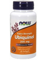 NOW FOODS Ubiquinol 200mg 60 gels.