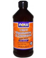 NOW FOODS Glukozamina & Chondroityna MSM 473 ml