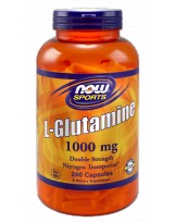NOW FOODS Glutamina 1000mg 240 kaps.