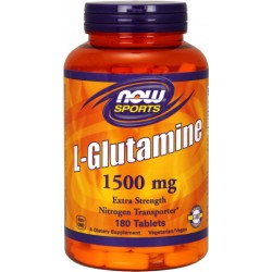 NOW FOODS Glutamina 1500mg 180tabl