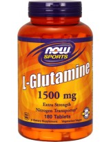 NOW FOODS Glutamina 1500mg 180 tabl