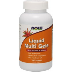 NOW FOODS Liquid Multi Gels 180 softgels