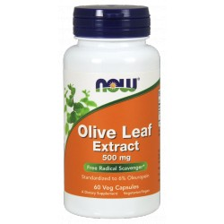 NOW FOODS Olive Leaf Extract 500mg 60 vcaps.