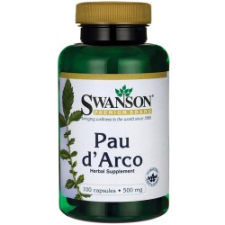 SWANSON Pau Darco 500 mg 100 kaps.