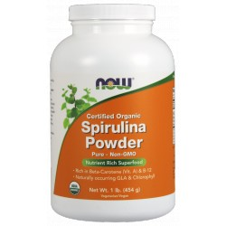 NO FOODS Spirulina Organic Powder 454g