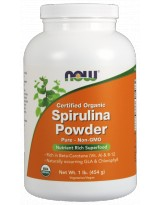 NOW FOODS Spirulina Organic Powder 454g