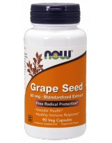 NOW FOODS Grape Seed 60 mg 90 vcaps