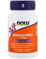 NOW FOODS Astaxanthin 4 mg 60 v-gels