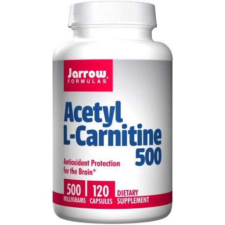 JARROW FORMULAS Acetyl L-Carnitine 500mg 120 vcaps.