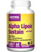 JARROW FORMULAS ALA Sustain 300mg & Biotin 30 tabl.