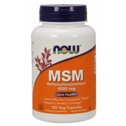 NOW Foods MSM 1000 mg 120 kaps.