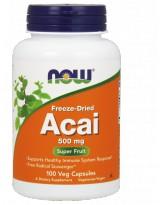 NOW Foods Acai 500mg 100 weg.kaps.