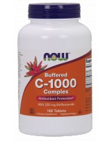 NOW Foods Vitamin C-1000 Complex 180 tabl.