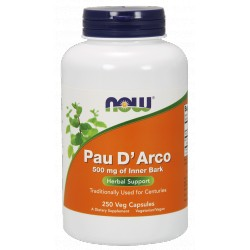 NOW Foods Pau D' Arco 500 mg - 250 capsules