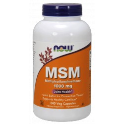 NOW FOODS MSM 1000mg 240 kaps.
