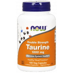 NOW FOODS Tauryna 1000mg 100 kaps.