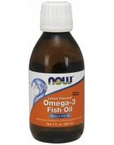 NOW FOODS Omega-3 Fish Oil Liquid 200ml