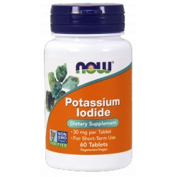 NOW FOODS Potassium Iodide 30mg 60 tabl.