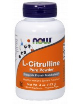 NOW FOODS L-Citrulline Powder 113g