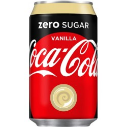Coca Cola Zero Wanilia 330ml