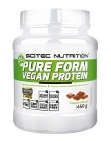 SCITEC Pure Form Vegan Protein 450 g Czekolada