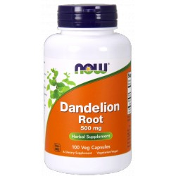 NOW Foods Dandelion Root 500 mg 100 kaps.