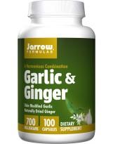 JARROW FORMULA Garlic & Ginger 700 mg 100 kaps.