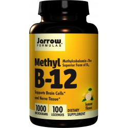 JARROW FORMULAS Methyl B-12 1000mcg 100 tab. do ssania