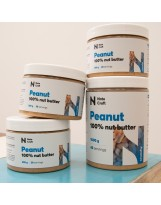 NATE CRAFT Peanut 100% Nut Butter 1000 g Crunchy