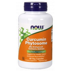 NOW Foods Curcumin Phytosome 60 vcaps.