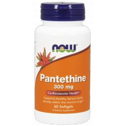 NOW Foods Pantethine 300 mg 60 kaps.