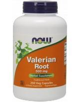 NOW FOODS Waleriana 500 mg 250 weg.kaps.