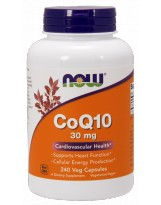 NOW FOODS Koenzym Q10 30 mg 240 vcaps.