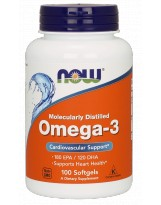 NOW Foods Omega 3 100 kaps.