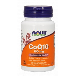 NOW Foods CoQ10 100 mg - 30 kaps.