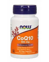 NOW Foods CoQ10 100 mg - 30 capsules