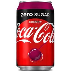 Coca Cola Zero Wiśnia 330ml