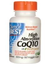 Doctors Best Koenzym Q10 Bioperine 100 mg 60 weg.kaps.