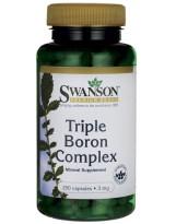 SWANSON Triple Boron Complex 3 mg 250 kaps.