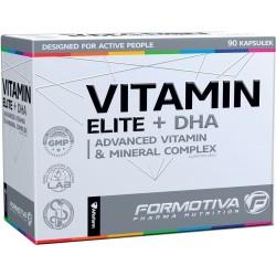 FORMOTIVA Vitamin Elite + DHA 90 kaps.