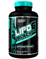 NUTREX Lipo 6 Black Hers 120 kaps.